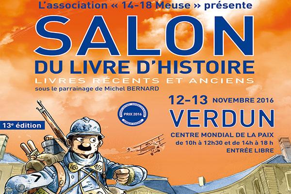 13e Salon du Livre d'Histoire de Verdun