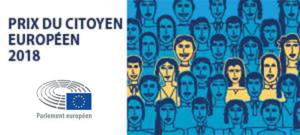 Prix du Citoyen Européen 2018 attribué au Centre Mondial de la Paix