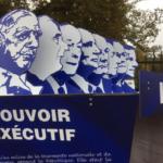 Sculpture participative dédiée aux 60 ans de la Ve République